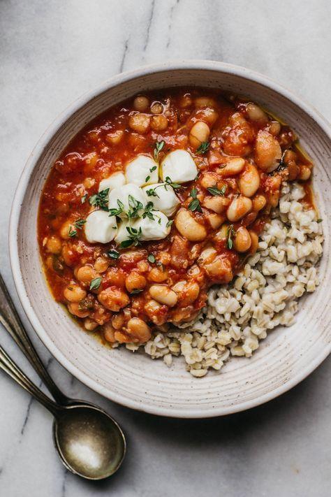 Italian Tomato And White Bean Stew