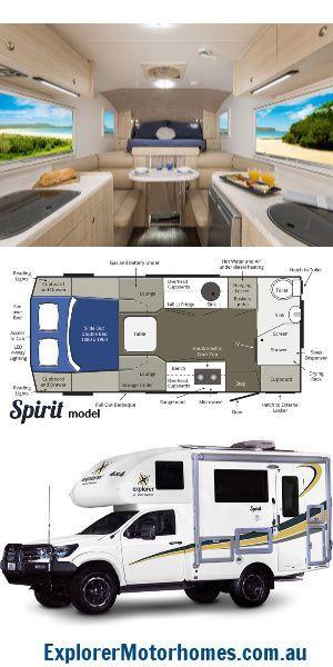 The Spirit 4x4 2 Person Custom Motorhome And Camper Van Small