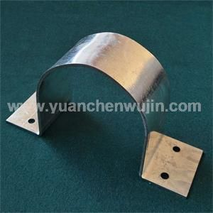 Galvanized Sheet C Clamp Customized Processing Thickness 3mm Size 161mm 50mm 90mm Tolerance 0 2 Wei Galvanized Sheet Galvanized