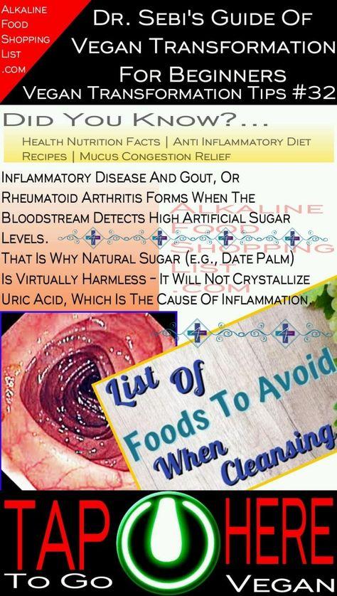Alkaline Diet Food Grocery Shopping List For Beginner Vegans
