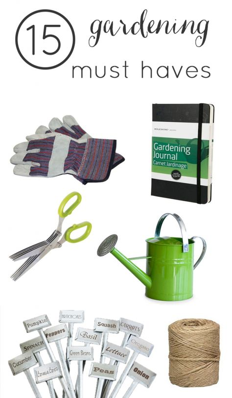 15 Must Have Gardening Tools Gardening For Beginners Home