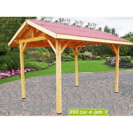 Auvent Bois Auvent En Bois Charpente En Kit Abri Charpentes Bois Auvent Bois Pavillon Exterieur Auvent