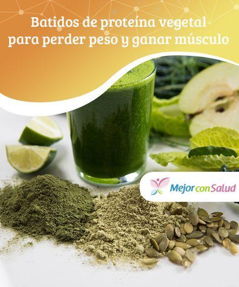 batidos de proteinas vegetales para adelgazar