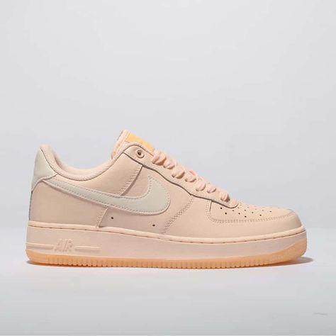 womens peach nike air force 1 07
