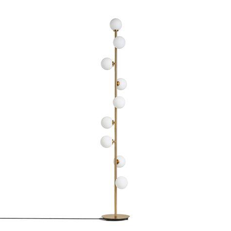 Modern Floor Lamp creative LED Floor Light grape gold color