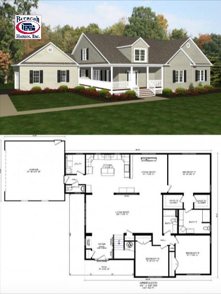 The Greenwood In 2020 House Plans Modular Home Floor Plans Floor Plans