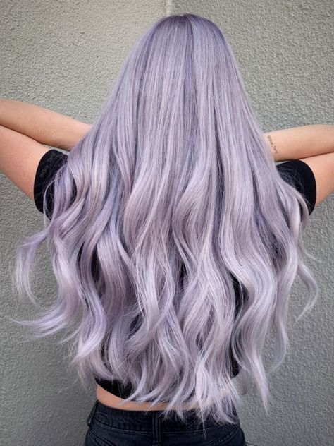 Haare Guy Tang and the Team Launch New Colors Hair color Colors Guy Haare Launch lilac hair MyDentity Tang Team Pastel Purple Hair, Lavender Hair Colors, Cute Hair Colors, Hair Dye Colors, Cool Hair Color, Silver Purple Hair, Silver Lavender Hair, Light Purple Hair Dye, Purple Hair Colors