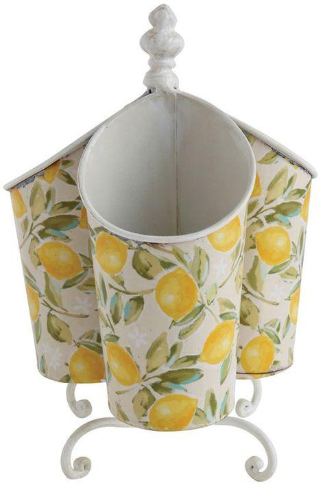 Lemon Rotating Utensil Holder Utensil Holder Lemon