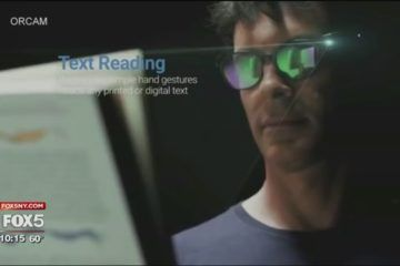 Wearable Device Ids Faces Reads Text For The Blind Wearable Device Wearable Technology Wearable Tech