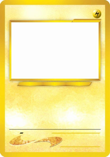 Blank Trading Card Template Best Of Blank Pokemon Card Template Best Photos Of Pokemon Tradi Pokemon Card Template Trading Card Template Pokemon Birthday Party