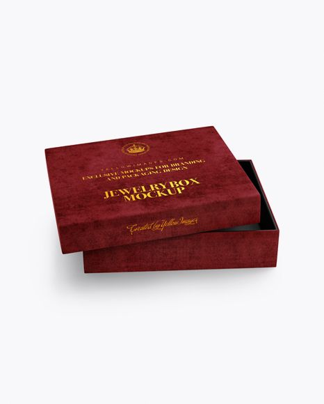Download Opened Velvet Box Mockup High Angle Shot In Box Mockups On Yellow Images Object Mockups Mockup Free Psd Mockup Psd Free Psd Mockups Templates