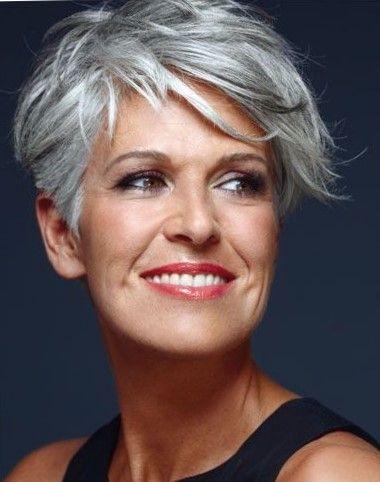 39++ Coiffure cheveux gris femme 60 ans idees en 2021