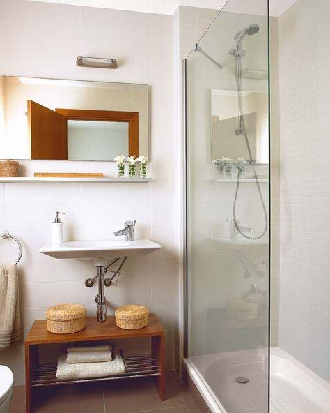 Baños con ducha: ¡ideales! | Baños con Angel | Cuarto de ...
