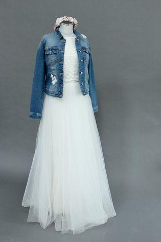 Brautkleid für jeans jacke Brautjacke, Brautbolero