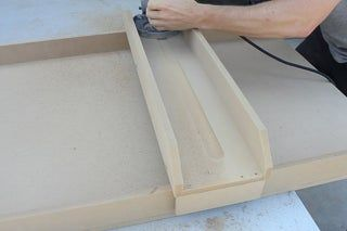 How To Make A 20 Router Sled Router Sled Router Woodworking Sled