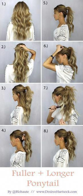 4 Ponytail Haircut Layers : ponytail, haircut, layers, Simple, Hairstyles, Layers, #longhairstyleslayers, Styles,, Hairstyle