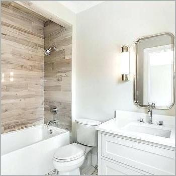 Image Result For Bathroom Wood Tile Wood Look Tile Bathroom Wood Tile Bathroom Bathtub Tile