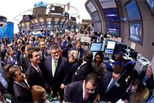 Over the past week or so, the market for exchange traded notes has