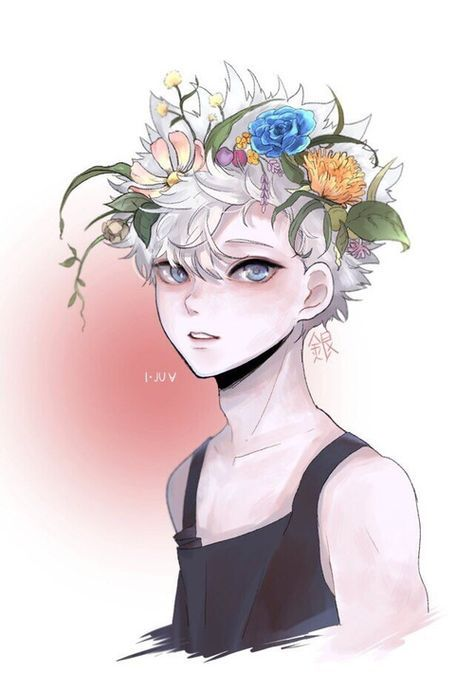 Hunter X Hunter Aesthetic Boy And Anime Image Crown Drawing