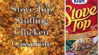 Stove Top Stuffing Chicken Bake Casserole Kraft Campbell S Soup Recipe The Green Notebook The Best Chicken Recipes Baked Chicken Casserole Campbells Soup Recipes Stove Top Stuffing Recipes Chicken