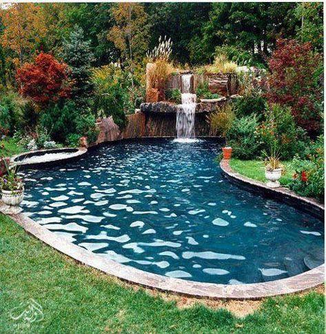 12 Enchanting Natural Home Decor Ideas Ideas Pool Landscaping Backyard Pool Designs Backyard Pool