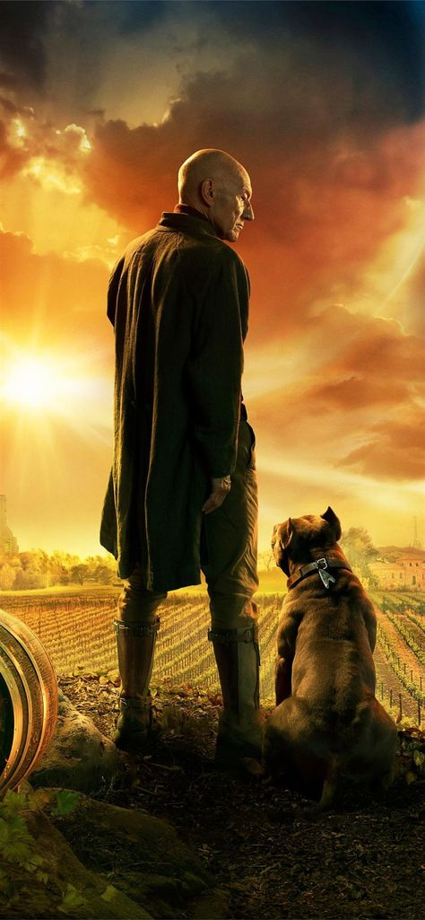 Star Trek Picard Awesome Free HD iPhone 11 Wallpapers