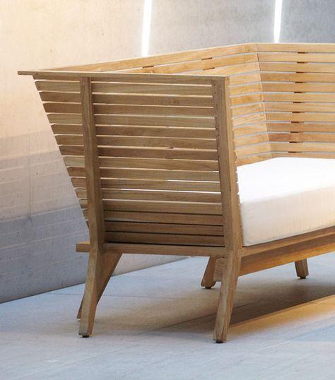 Holz Gartenbank Aus Teak Sitzbank William Jan Kurtz Gartenbank Holz Gartenbank Gartenmobel