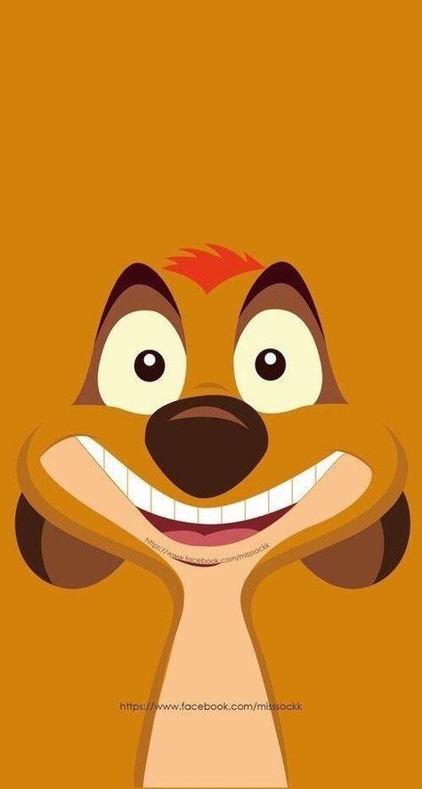 Disney's the Lion king Timon wallpaper