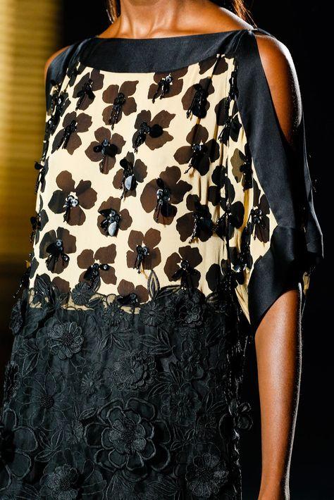 Dries Van Noten Spring 2014 Ready-to-Wear Fashion Show Details