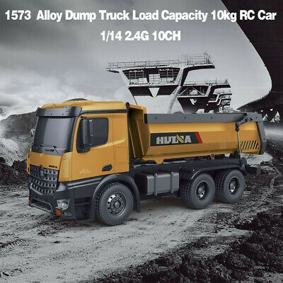 1 14 Rc Truck 10 Ch Remote Dump Truck Toy Kids Rd1y Remote Control Truck Gift Ebay In 2020 Trucks Toy Trucks Dumper Truck