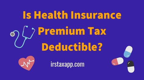 Is Health Insurance Deductible With Images Health Insurance Insurance Deductible Health