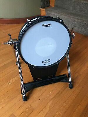 Roland Kd 120 Kick Bass Drum Trigger Kd120 White Excellent Drums Kids Drum Set Drums For Kids
