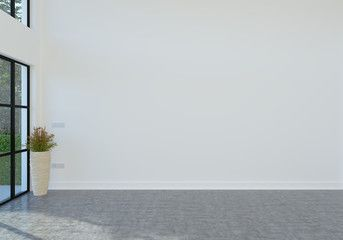 Empty Room With White Wall White Rooms Interior Photo Empty Room