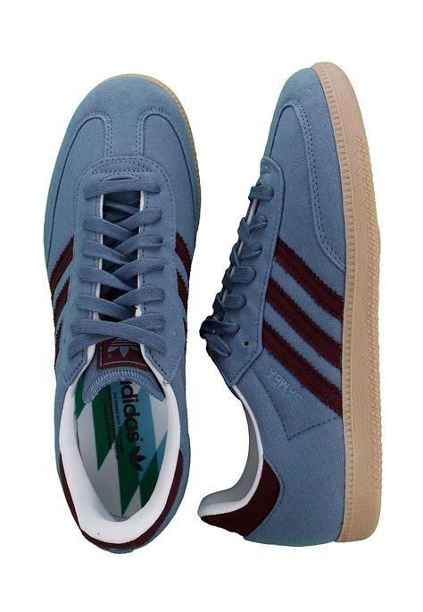 adidas Samba Vegan Scarpa grigio blu