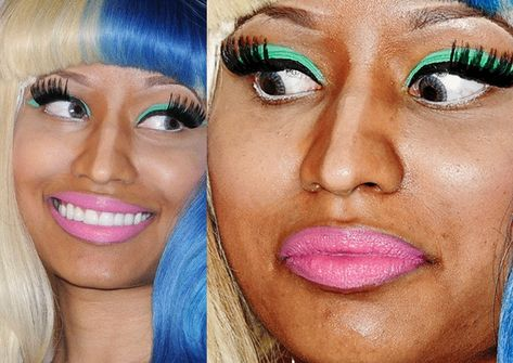 Enjoy these 35+ Worst And Terribly Hilarious Celebrity Makeup Fails