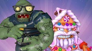 Gingerbark House vs Giga Gargantuar in Plants vs Zombies