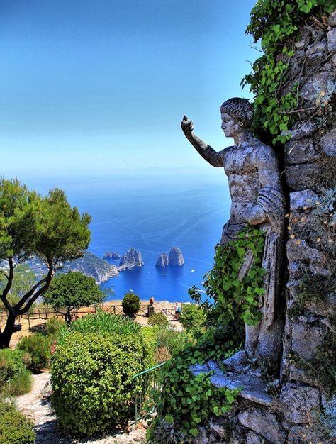 Les plus belles destinations d'Italie- Capri                                                                                                                                                     Plus