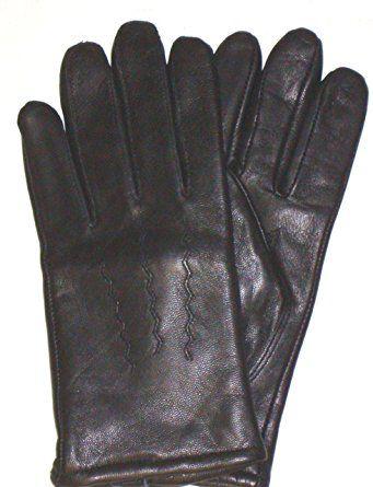 S-TARIUS Mens Leather Gloves Winter Touchscreen Italian Goatskin Driving Gloves