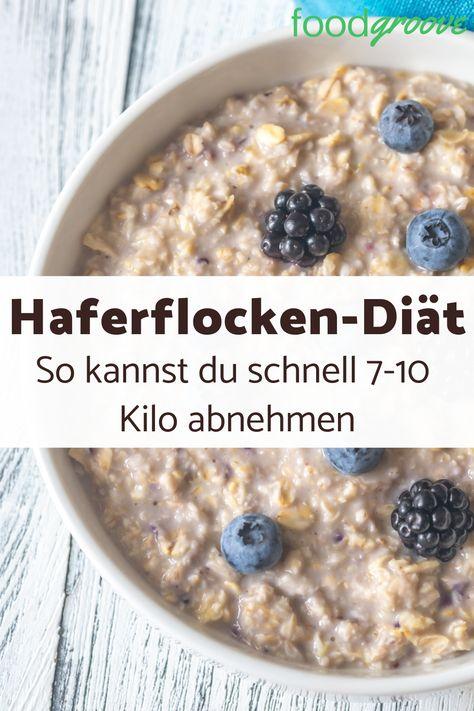Haferflocken-Diät: Effektiv & schnell abnehmen #Diäten–Diät-Rezepte
