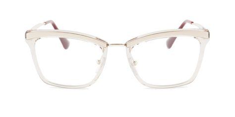 b3a47f2c49e2 Prada - PR15UV Gold eyeglasses   Free Shipping - Designer Eyes