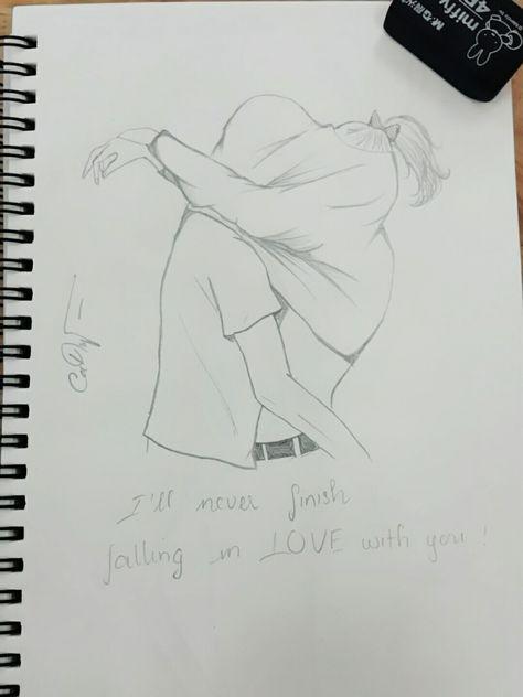 Love till the end #Draw #Love #Kiss