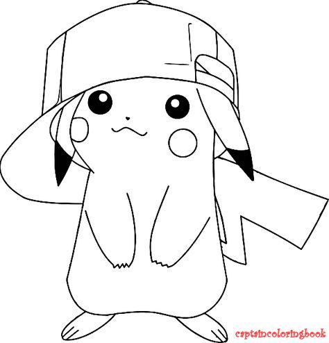 Printable Coloring Pages Pikachu Coloring Page Pokemon Coloring Pages Pokemon Coloring