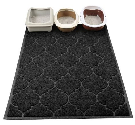 Cat Litter Mat Xl Super Size Phthalate Free Easy To Clean Durable Soft On Paws Cat Litter Cat Litter Mat Litter Mat