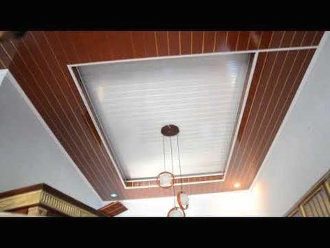 Ide Contoh Pemasangan Plafon Pvc Terbaru 1000 In 2020 Pvc Ceiling Design Ceiling Design Modern Modern Ceiling Light