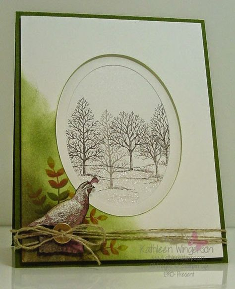 Walk in the Wild and Lovely as a Tree -- Stampin' Up!