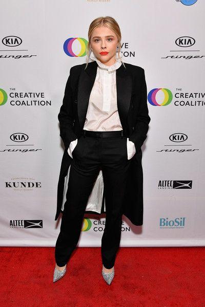 Chloe Grace Moretz  attends the 2018 Spotlight Initiative Awards Gala Dinner.