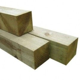 Post 100x100mm H4 Rad Rough Sawn 2 7m Timber Fencing Timber Wood