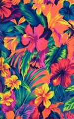 Womens Swimwear Cancun Adjustable Rio-Tanga in Hawaiian Floral