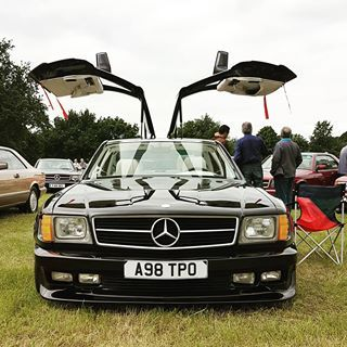 Stunning And Rare 560sec By Sgs With Gullwing Doors Spikeycurve Mercclub Mercedes Cool Mercedesbenz Me Mercedes Benz Mercedes Benz Classic Mercedes