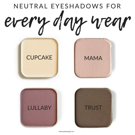 Not all eyeshadows are created equal. And Maskcara Beauty has the best around! From matte to shimmer, Maskcara eyeshadow is top notch. Eyeshadow For Blue Eyes, Simple Eyeshadow, Neutral Eyeshadow, Blending Eyeshadow, Colorful Eyeshadow, Eyeshadow Looks, Eyeshadow Makeup, Eyeshadow Palette, Eyeshadows